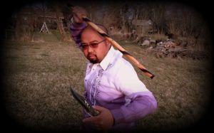Peter Codizal of Filipino Martial Arts Canada